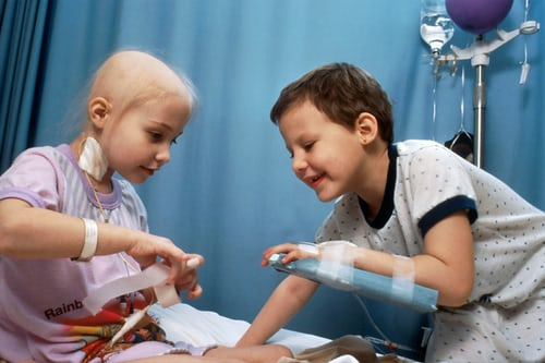 Childhood cancers are more susceptible to treatment than adult cancer