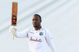 Nkrumah Bonner scored his first test century allow the West Indies to draw the first cricket test against Sri Lanka on Thursday