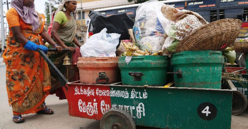 Garbage Cleaning using Blockchain in India
