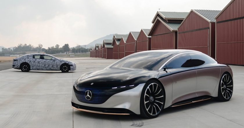 The Mercedes-Benz EQS electric sedan will be released on April 15th