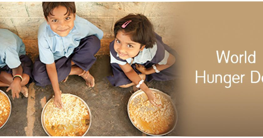 World hunger day is being observed on 28th May 2021