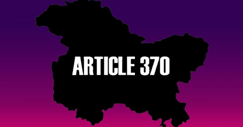Why did only Two Outsiders buy land after the Abrogation of Article 370?