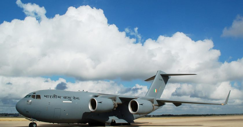 Air Force Plane returned Home from Afghanistan carrying Indian Officials